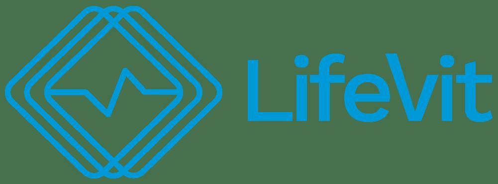 LifeVit LOGO, blue