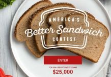 America's Better Sandwich™ Contest
