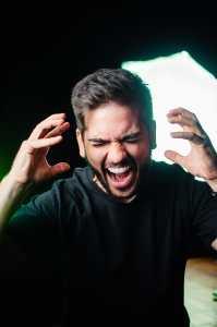 Frustreted Man