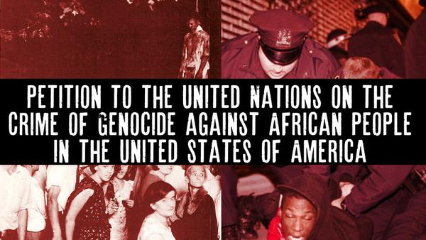 Africans charge genocide and launch petition to the U.N.