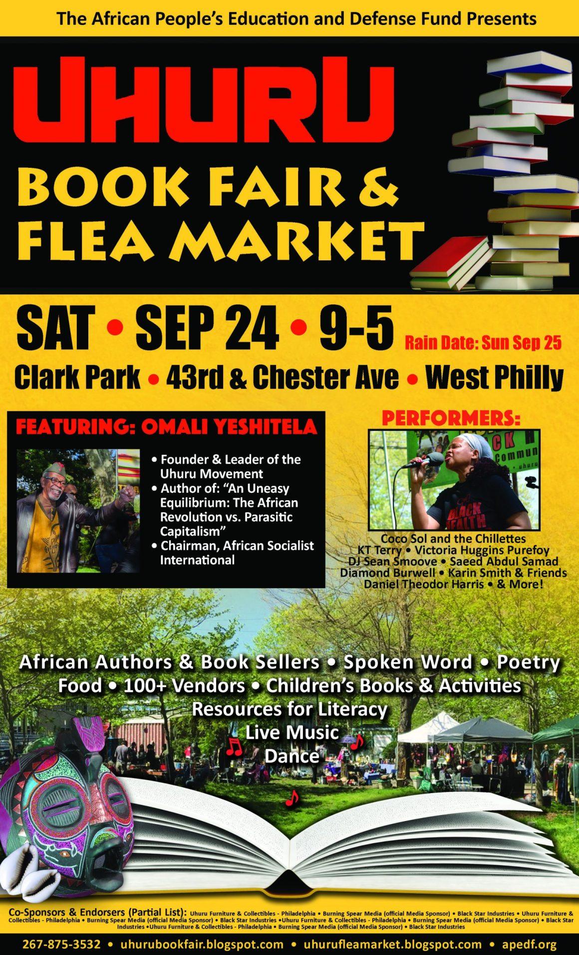 Uhuru Book Fair and Flea Market
