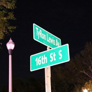 Tyron Lewis Avenue