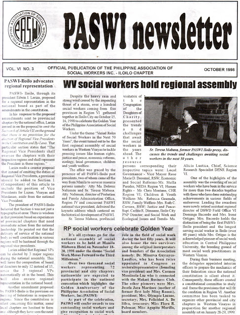 Flashbacks of PASWI golden years