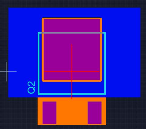 PCB layout dissipation
