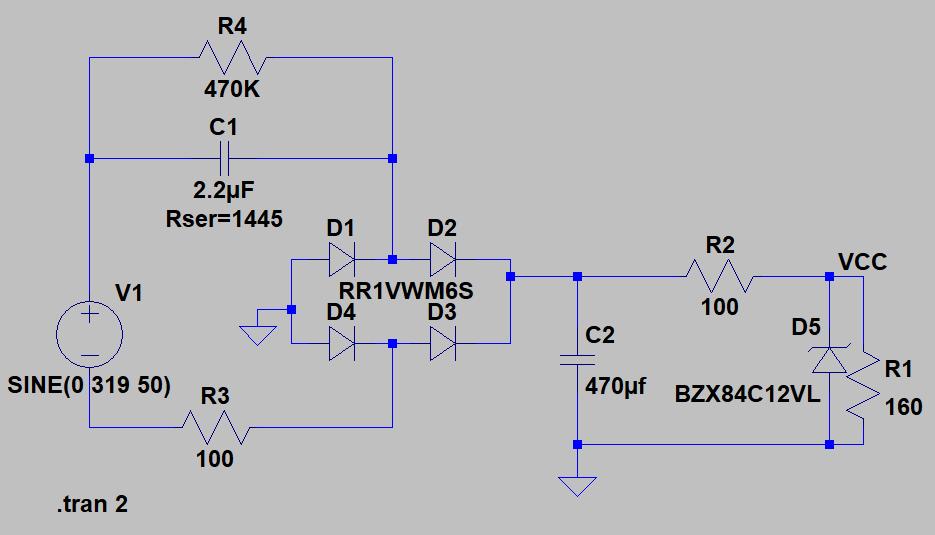 Transformerless schematic