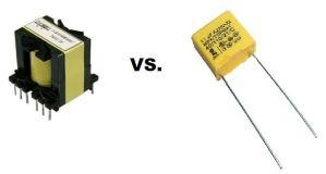 transformer vs cap