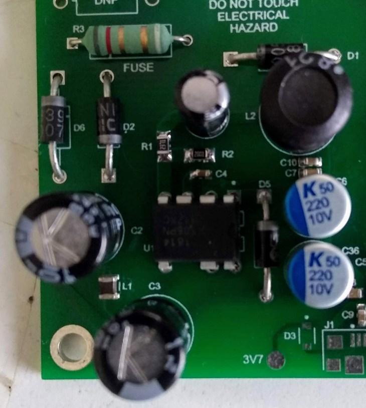 Transformerless PSU, round 2 - Developpa Electronics