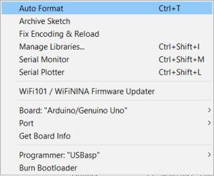 ATMega328P config Arduino