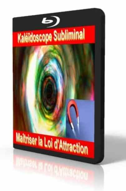 Maitrisez la loi d'attraction Kaléîdoscope subliminal
