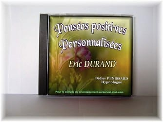 CD Pensees positives personnalisees