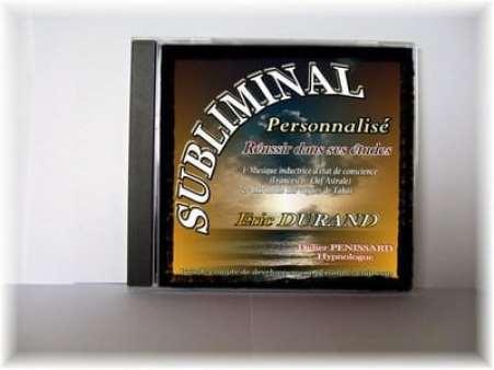 Réalisation de CD Subliminal personnalisé