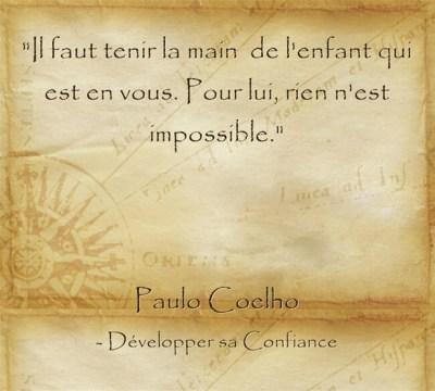 Se dire que tout est possible et avoir confiance