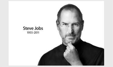image photo de Steve Jobs refléchissant