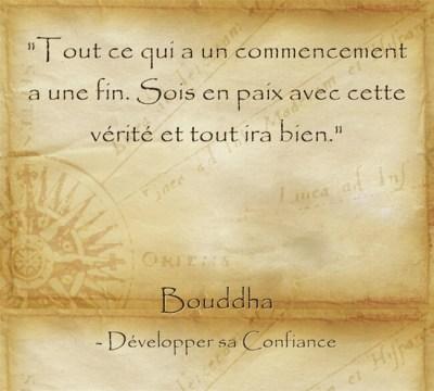 Citation de Bouddha pour être apaisé