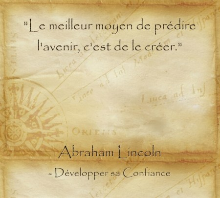 Citation d'Abraham Lincoln sur l'importance d'oser et de voiloir