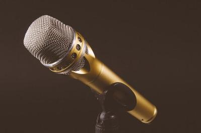 Image d'un microphone