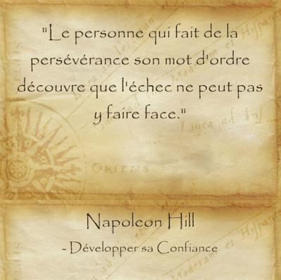 Tout est réalisable avec de la persévérance