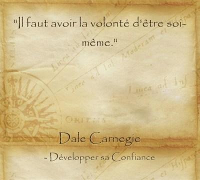 Citation de Dale Carnegie pour s'accomplir