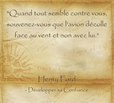 Mots d'Henry Ford sur l'effort relatif