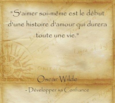 Citation d'Oscar Wilde sur l'importance de s'accepter