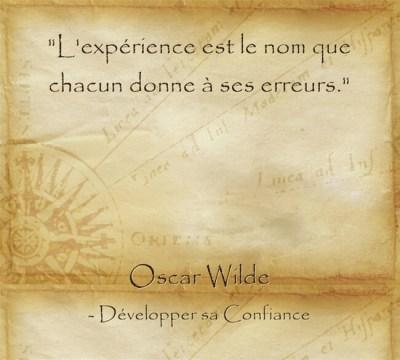 Réflexion d'Oscar Wilde sur l'importance de s'accepter tel qu'on est