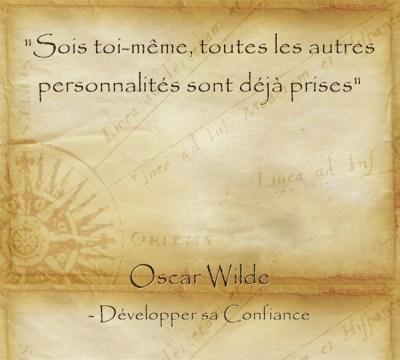 Conseil d'Oscar Wilde sur l'importance d'être soi et de s'accepter