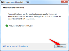 Installation visual studio