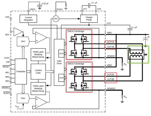 Schéma interne A4988