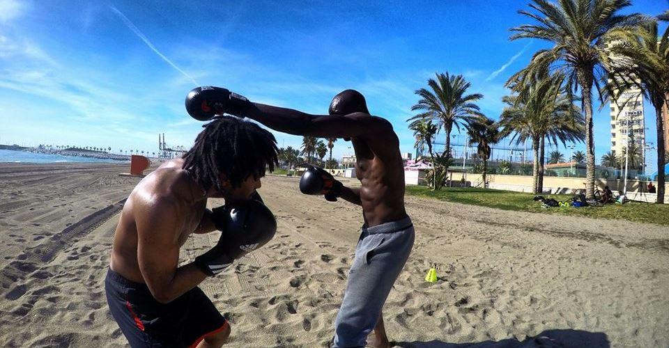 entraînement à la plage