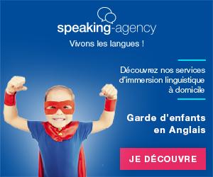 Bannière Baby-Speaking de Speaking-Agency pour la garde d'enfants