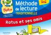 Methode de lecture syllabique Ratus et ses amis