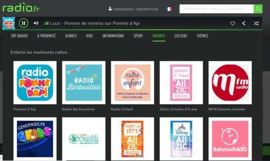 Radio.FR section enfants