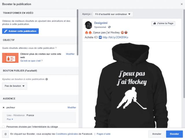 tuto pub facebook débutant