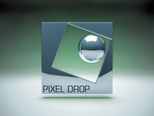 Pixel Drop Logo