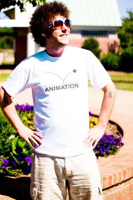 devenjames animation t-shirt
