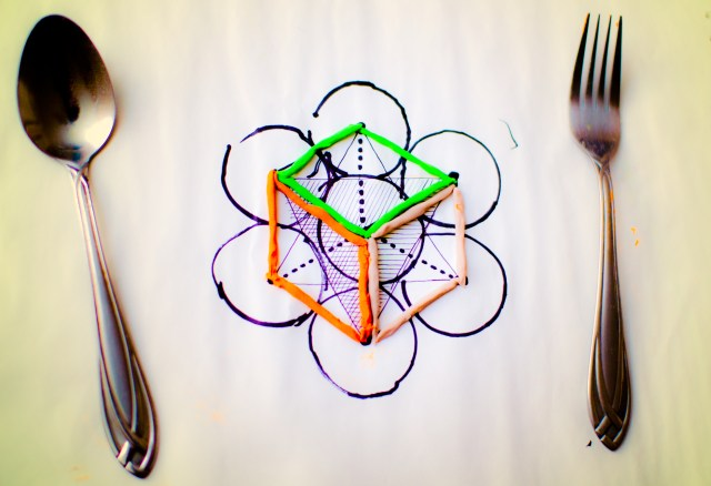 sacred geometry for breakfast