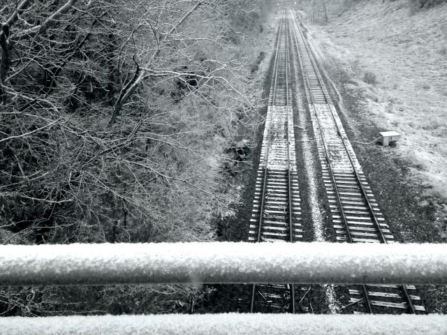 snowy snow snow railraod