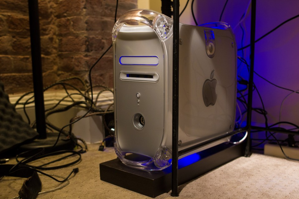 powermac g4 quicksilver PC mod windows