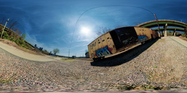 rail road norfolk southern richmond manchester panorama 360