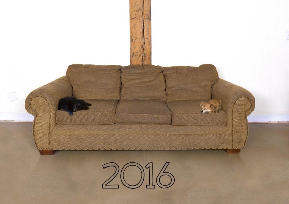 deven and lauren 2016 couch calendar
