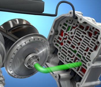 transmission control module in 3D cinema 4D