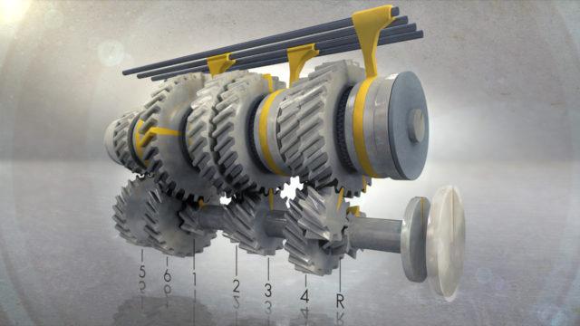 gear ratios of mini cooper