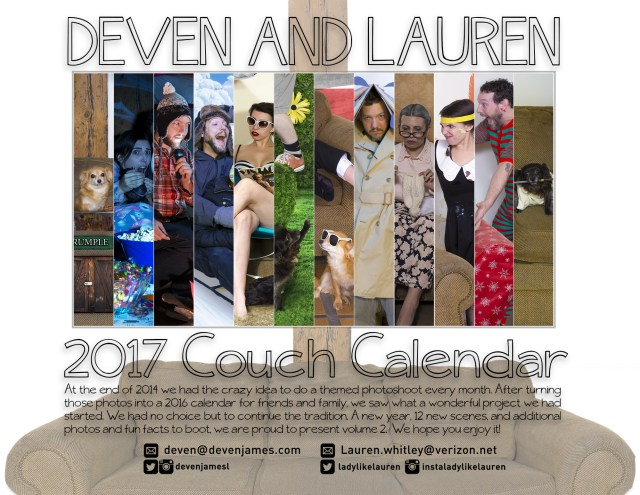 couch couple calendar 2017 back cover