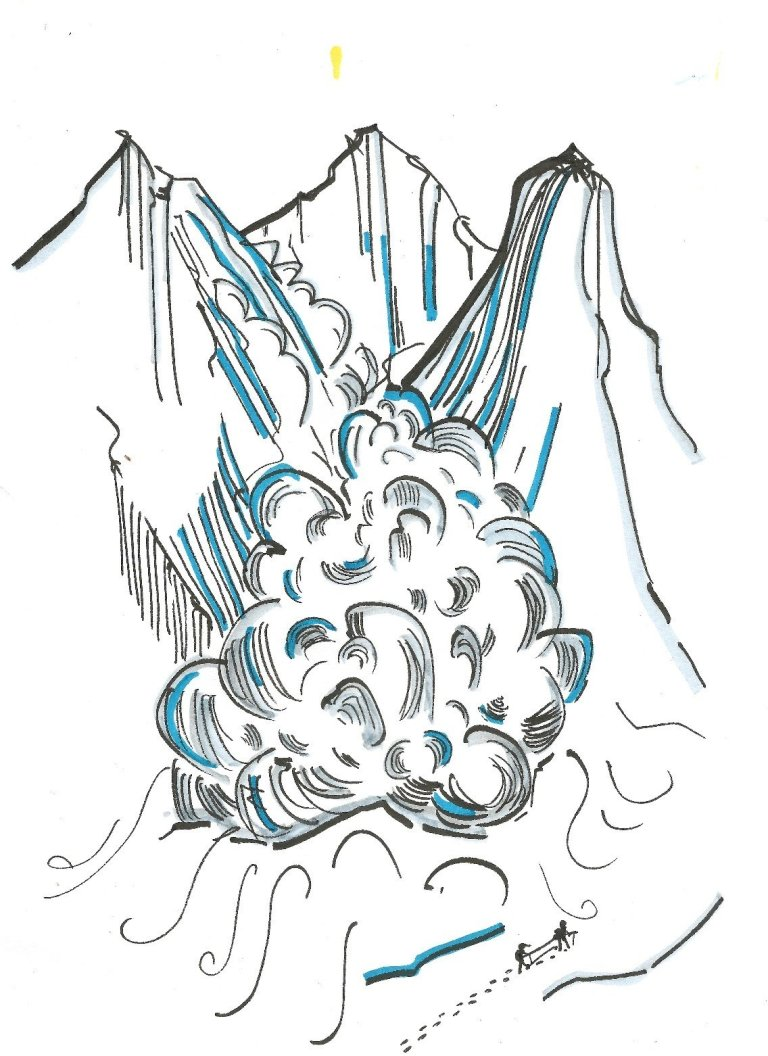 Read more about the article Vendül, la valanga: un approccio differente all'ambiente montagna