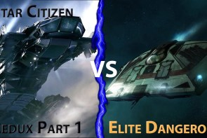 Elite Dangerous Vs Star Citizen