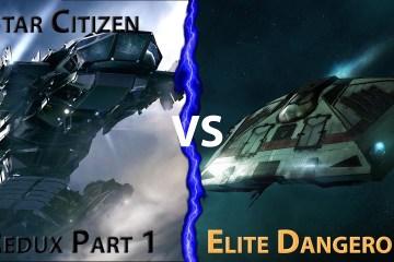 Elite Dangerous Vs Star Citizen
