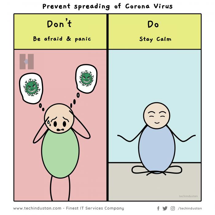 Prevent Spreading Coronavirus