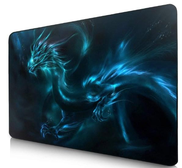 details sur tapis souris gaming gamer pc bureau portable antiderapant precision 900 x 400 mm