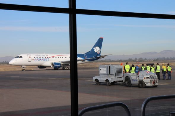 Aeroméxico en Aguascalientes
