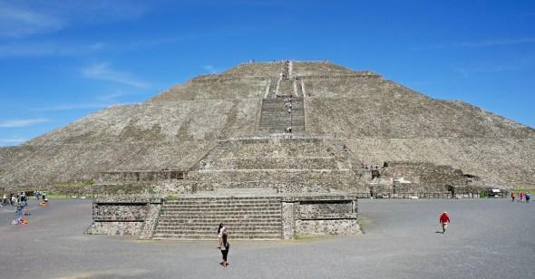 Pirámide del Sol, Teotihuacán